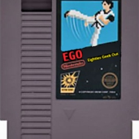 Logo of the podcast EGO: The Eighties Geek Out Podcast – Episode 17: Clash of the Titans