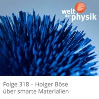 Logo of the podcast Folge 318 – Smarte Materialien