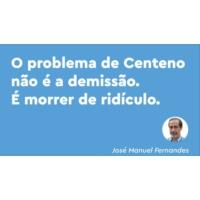Logo of the podcast O que é ridículo é Centeno ter pedido bilhetes