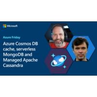 Logo of the podcast Azure Cosmos DB cache, serverless MongoDB and Managed Apache Cassandra | Azure Friday