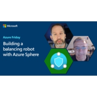 Logo du podcast Building a balancing robot with Azure Sphere | Azure Friday