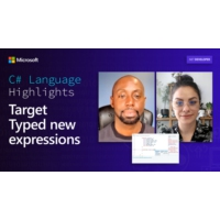 Logo du podcast C# Language Highlights: Target Typed new expressions | On .NET