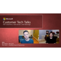 Logo of the podcast Microsoft Customer Clear.Bank shares their journey and learnings | Customer Tech Talks