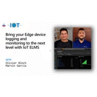 Logo of the podcast Bring your Edge device logging and monitoring to the next level with IoT ELMS | Internet of Things …