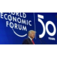 Logo of the podcast At Davos, Trump touts US economy, but dismisses climate 'prophets of doom'