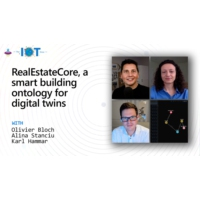 Logo of the podcast RealEstateCore, a smart building ontology for digital twins | Internet of Things Show
