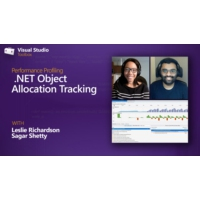 Logo of the podcast Performance Profiling | .NET Object Allocation Tracking Tool | Visual Studio Toolbox
