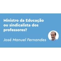 Logo of the podcast Problema: o ministro é um Mário Nogueira de barba