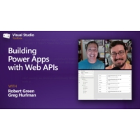 Logo of the podcast Building Power Apps with Web APIs | Visual Studio Toolbox