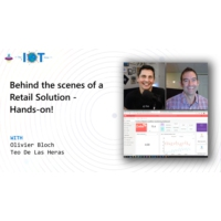 Logo of the podcast Behind the scenes of a retail solution - Hands-on! | Internet of Things Show