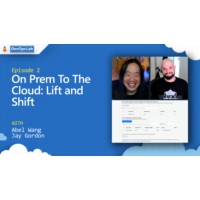 Logo of the podcast On Prem To The Cloud: Lift and Shift (Ep 2) | The DevOps Lab