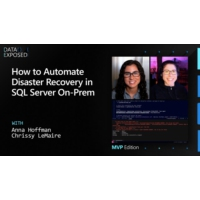 Logo of the podcast How to Automate Disaster Recovery in SQL Server On-Prem | Data Exposed
