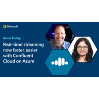 Logo of the podcast Real-time streaming now faster, easier with Confluent Cloud on Azure | Azure Friday