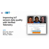 Logo of the podcast Improving IoT sensors data quality with Verified Telemetry | Internet of Things Show