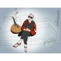 """Logo du podcast Celeste Rodrigues, aos 94 anos: """"A vida todos os dias é uma aventura. Gostava de chegar aos 100 e g…"""