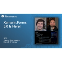 Logo of the podcast Xamarin.Forms 5 Is Here! | The Xamarin Show