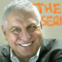 Logo of the podcast And Another Thing, with Errol Morris
