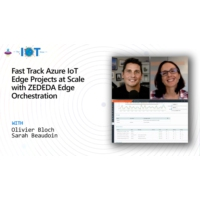 Logo of the podcast Fast Track Azure IoT Edge Projects at Scale with ZEDEDA Edge Orchestration | Internet of Things Show