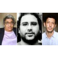 """Logo of the podcast """"You Have Not Yet Been Defeated"""": Alaa Abd El-Fattah Continues to Push for Change from Egyptian Jail"""