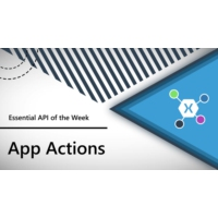 Logo of the podcast App Actions (Xamarin.Essentials API of the Week) | The Xamarin Show