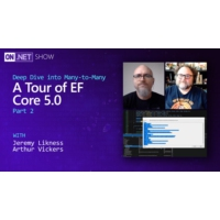 Logo of the podcast Deep Dive into Many-to-Many: A Tour of EF Core 5.0 pt. 2 | On .NET