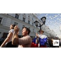 Logo du podcast Demokratian toivoa ja kovia otteita Moskovan kaduilla
