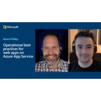Logo of the podcast Operational best practices for web apps on Azure App Service | Azure Friday