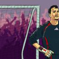 Logo of the podcast You'll Never Walk Alone and Jerzy Dudek