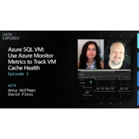 Logo of the podcast Azure SQL VM: Use Azure Monitor Metrics to Track VM Cache Health (Ep. 3)  | Data Exposed
