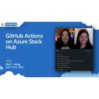 Logo of the podcast GitHub Actions on Azure Stack Hub | The DevOps Lab