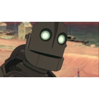 Logo of the podcast #90: The Iron Giant