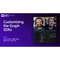Logo of the podcast Customizing the Graph SDKs  | On .NET