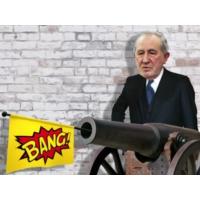 Logo of the podcast Comissão Política. A 'bazuca' da tropa contra o ministro (e os congressos da esquerda-direita volve…
