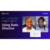 Logo du podcast C# Language Highlights: Using Static Directive | On .NET