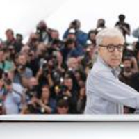 Logo of the podcast On a Zoom Call with Woody Allen