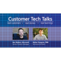 Logo of the podcast ÖBB shares how their move to Azure helped scale their system and increase reliability | Customer Te…