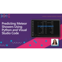 Logo of the podcast Predicting Meteor Showers Using Python and Visual Studio Code | Learn with Dr. G