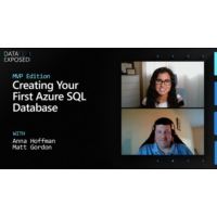 Logo of the podcast Creating Your First Azure SQL Database | Data Exposed