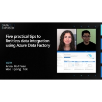 Logo of the podcast Five Practical Tips to Limitless Data Integration Using Azure Data Factory | Data Exposed