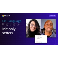 Logo du podcast C# Language Highlights: Init only setters | On .NET
