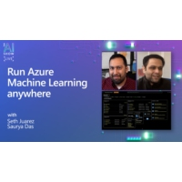 Logo du podcast Run Azure Machine Learning anywhere | AI Show