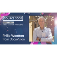 Logo of the podcast Philip Wootton from DocuVision | Source Code: Real Stories from Startup Founders