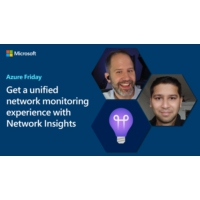 Logo du podcast Get a unified network monitoring experience with Network Insights | Azure Friday