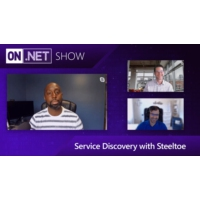 Logo of the podcast Service Discovery with Steeltoe | On .NET