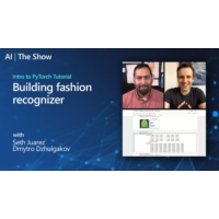 Logo of the podcast Intro to PyTorch Tutorial: Building fashion recognizer | AI Show