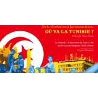 "Logo du podcast Hatem Nafti : ""Où va la Tunisie ?"""