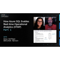 Logo of the podcast How Azure SQL Enables Real-time Operational Analytics (HTAP) - Part 1 | Data Exposed