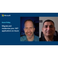 Logo of the podcast Migrate and modernize your .NET applications on Azure | Azure Friday
