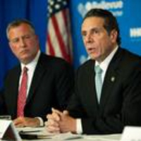 Logo of the podcast Mayor and Governor Infighting: Coronavirus Response in New York Amid Rising Cases 2020-10-07
