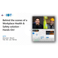 Logo of the podcast Behind the scenes of a Workplace Health & Safety solution - Hands-on! | Internet of Things Show